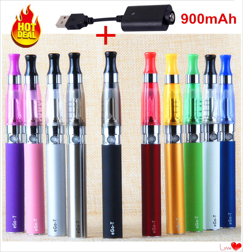 CE4 Price Pack Electronic Cigarette Smoking Pipe Ego Ce4 Kit Usb Charger Hookah Vape Pen 900mAh Ego-t Battery E Cig For E Liquid