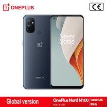 Versão global oneplus nord n100 4g smartphone 6.52