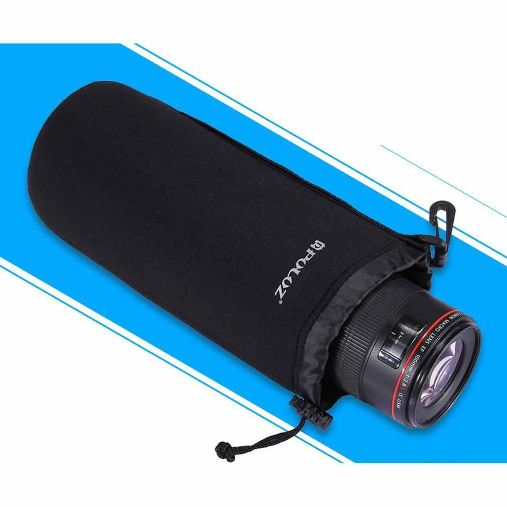 Puluz Kamera Case Portable Lensa Kantong Lensa untuk Lensa Kamera DSLR Tas Kantong Shockproof