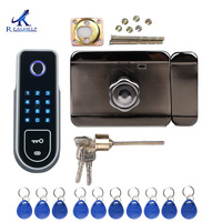 Wireless and Biometric Locks fingerprint lock Ic card Smart Door Lock Electric Lock access control system for home