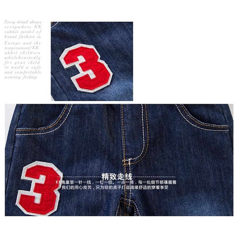 2021 High Quality Thicken Winter Warm Cashmere Jeans Children Pants Boys Pants Jean Children Kids Vans Jeans Baby Boys Clothing 3