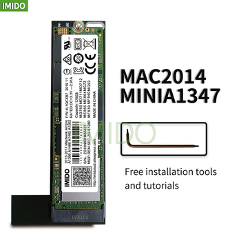 A1347 ssd 128GB 256GB 512GB for MAC Mini A1347 2014 hard disk Add a second solid state drive