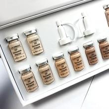 BB сыворотка, светящийся набор, Dermawhite meso, BB Лечебный крем, Mesowhite, макияж, Жидкая основа, профессиональная для лечения тонуса кожи
