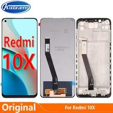 Original Screen For Xiaomi Redmi 10X 4G M2003J15SC LCD Display Touch Digitizer Screen Replace Global Version
