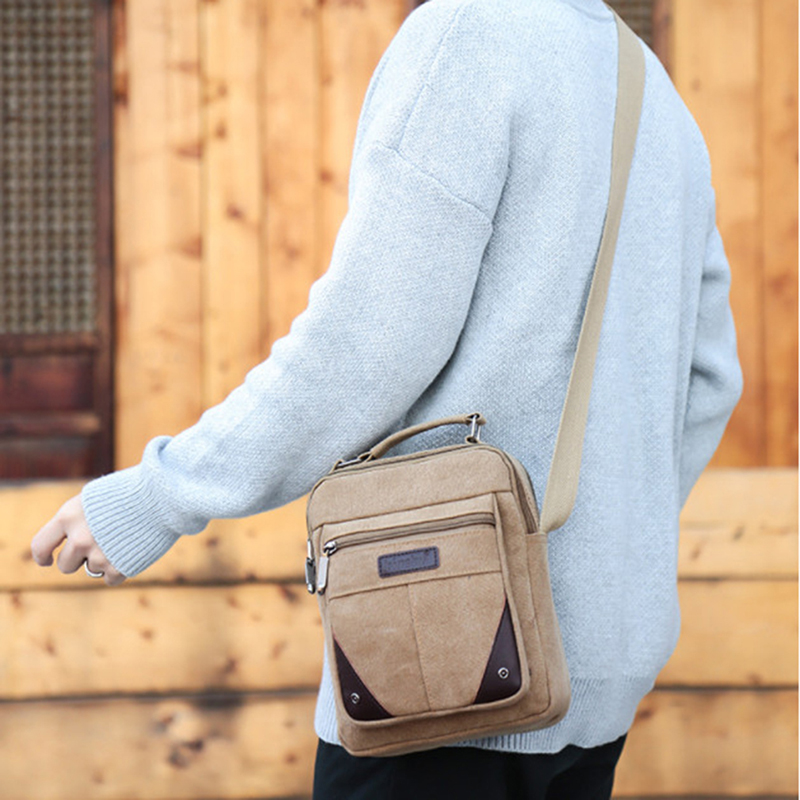 2020 Men's Travel Bags Cool Canvas Bag Fashion Men Messenger Bags High Quality Brand Bolsa Feminina Shoulder Bags