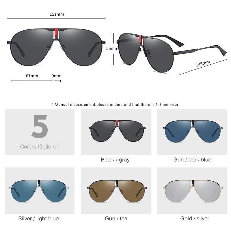 Купить lm 2021 новые мужские очки поляризационные солнцезащитные авиаторы