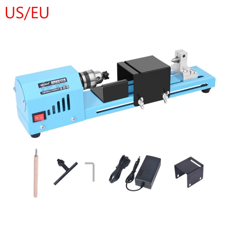 150W Electric Wood Mini Lathe Buddha Beads Grinding Polisher Polishing Beading 448A