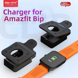 Image 1 - Voor Amazfit Bip Laders Vervanging Draagbare Clip Magnetische Cradle Voor Huami Bip Lite Midong Smart Horloge A1608 Opladen Dock