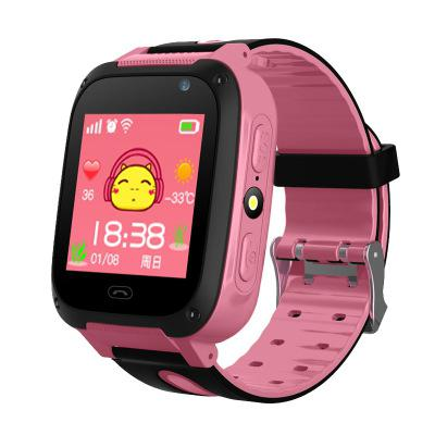 LinTimes Children Kids Wristwatches Smart Watch Anti-Lost SOS Tracker Smartwatch