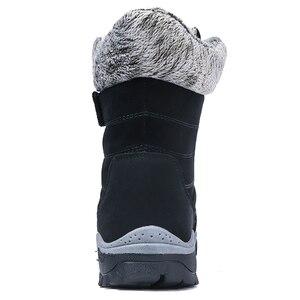 Image 2 - ฤดูหนาวรองเท้าผู้หญิงรองเท้าบู๊ตหิมะรองเท้าสตรีรองเท้าผ้าฝ้ายหญิงข้อเท้าสูงรองเท้าสวมใส่ลื่นBota feminina