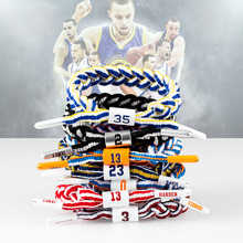 Ourania Superstar Player Basketball Reflective Bracelet Men Accessories Stainaless Steel Charm