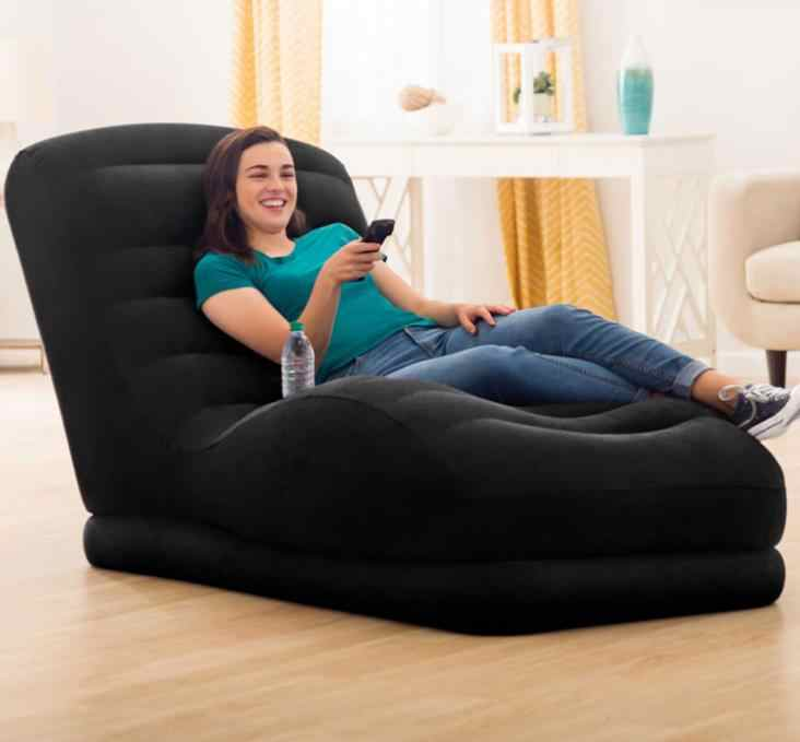 Divano Letto Matrimoniale Gonfiabile.Originale Autentico Intex High End Singola Persona Gonfiabile