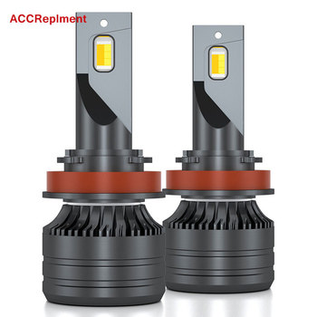 LED headlight Bulbs H1 H7 H11 H8 H9 9005 HB3 H10 9006 HB4 9012 H4 HB2 9003 Fog Bulbs 3000K 4300K 6000K Temperature Changing image