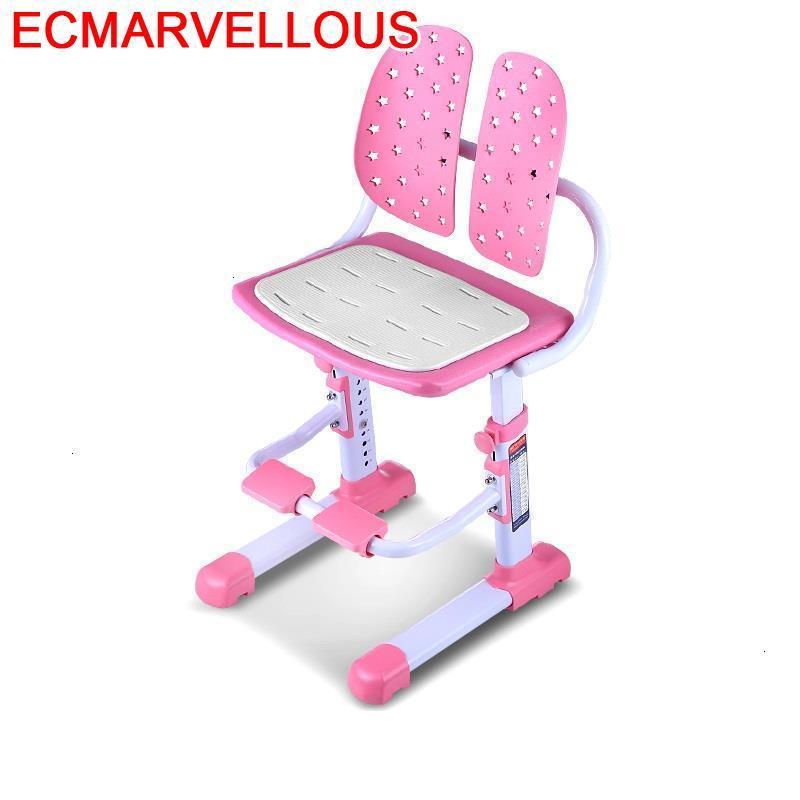Mueble Infantiles Kids Meuble Table For Meble Dzieciece Baby Furniture Adjustable Chaise Enfant Cadeira Infantil Children Chair