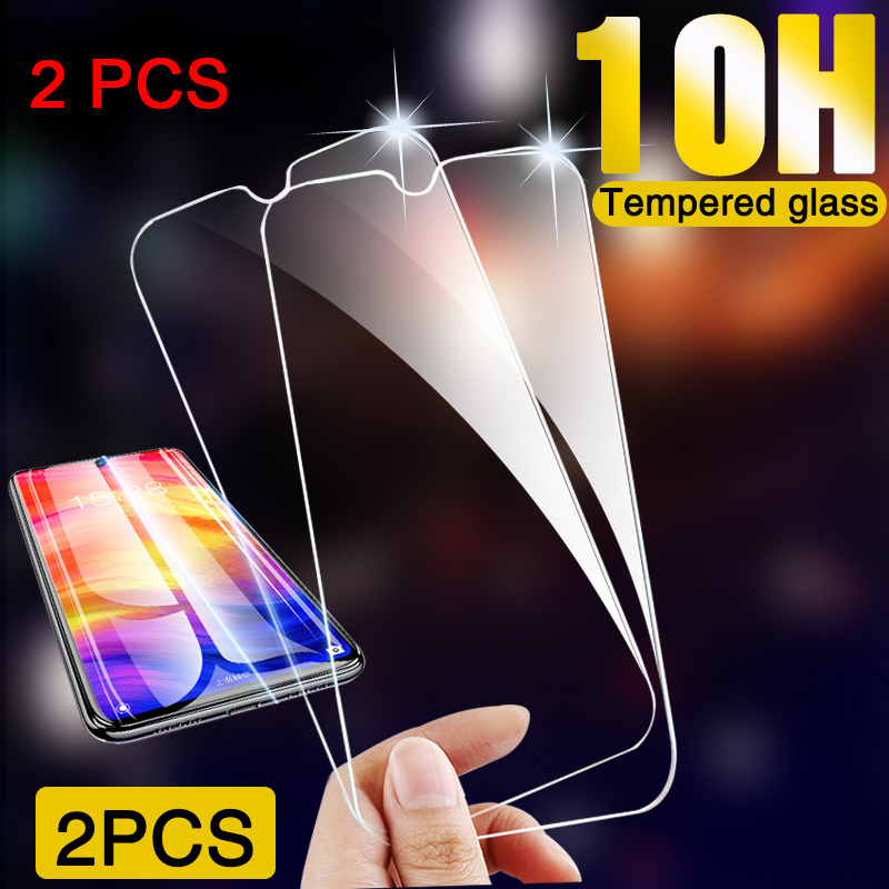 2 Pieces Clear 9H Hard Screen Protector For Samsung A50 A60 A80 A90 Protective Glass For Galaxy A70 A30 A40 A20E A10 A2 Core HD