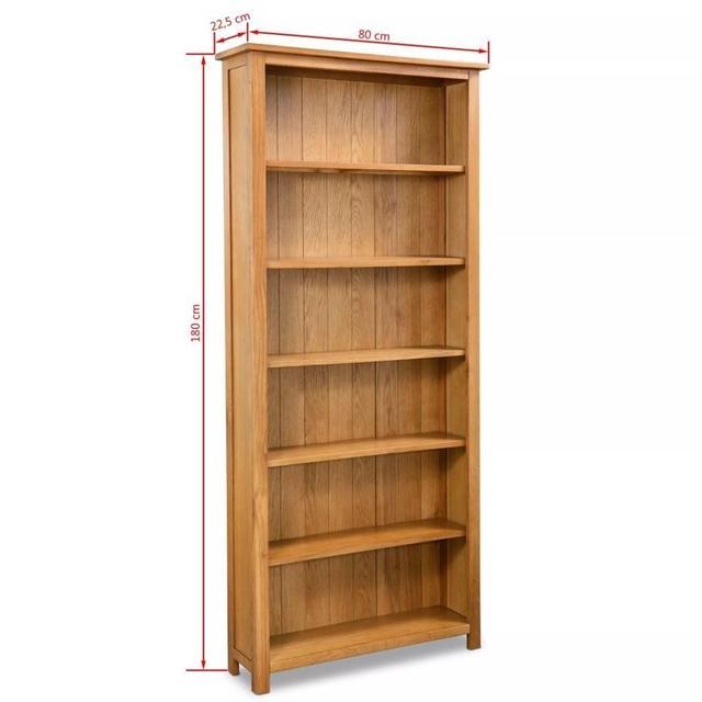 """6-Tier Bookcase 31.5""""x8.9""""x70.9"""" 5"""