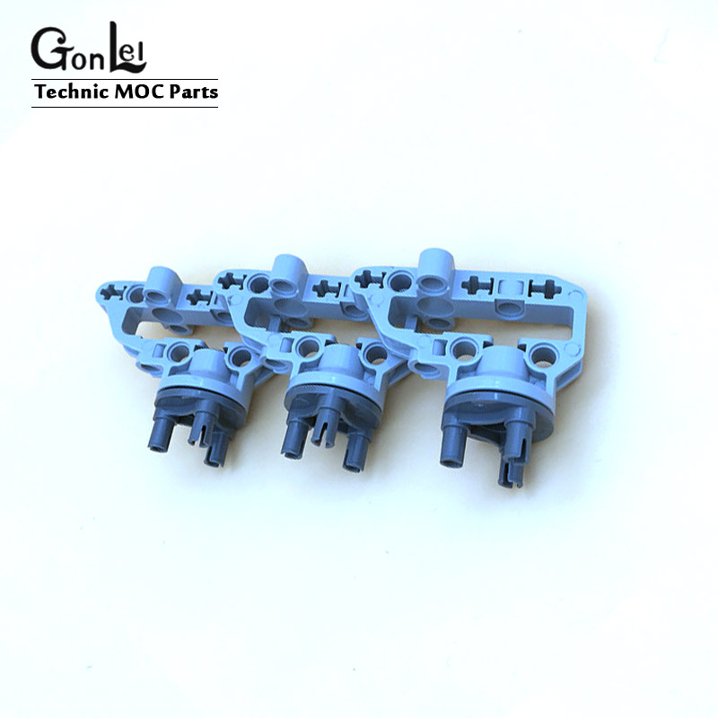 5 Sets/Lot Technic Parts 92908 Technic Steering Portal Axle Housing Building Block Parts Toys Compatible With 92909 11949 11950