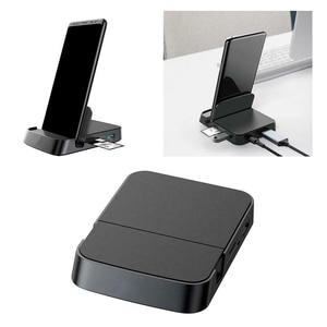 Image 1 - Huawei 社サムスン USB C ハブタイプ C ドッキングステーション電話スタンド Dex ステーション USB C hdmi ドック電源アダプタリーダー