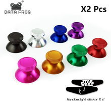 Aluminum Metal 3D Analog Joystick for Playstation 4 PS4 Slim Pro thumb Stick grip Cap Replacement for XBOX ONE Controller