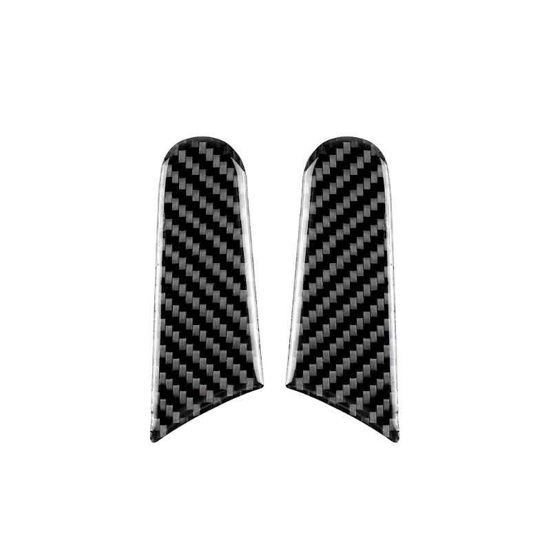 2pcs For Porsche Macan Accessories 2017 2018 2015 2016 Rearview Mirror Decoration Repair Carbon Fiber 3D Car Stickers
