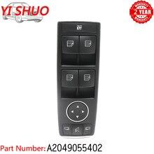 Power Fenster Control Master Schalter A2049055402 FÜR Mercedes Benz W212 E Klasse W204 C Klasse C250 C300 c350 E350 E400 A207 X204
