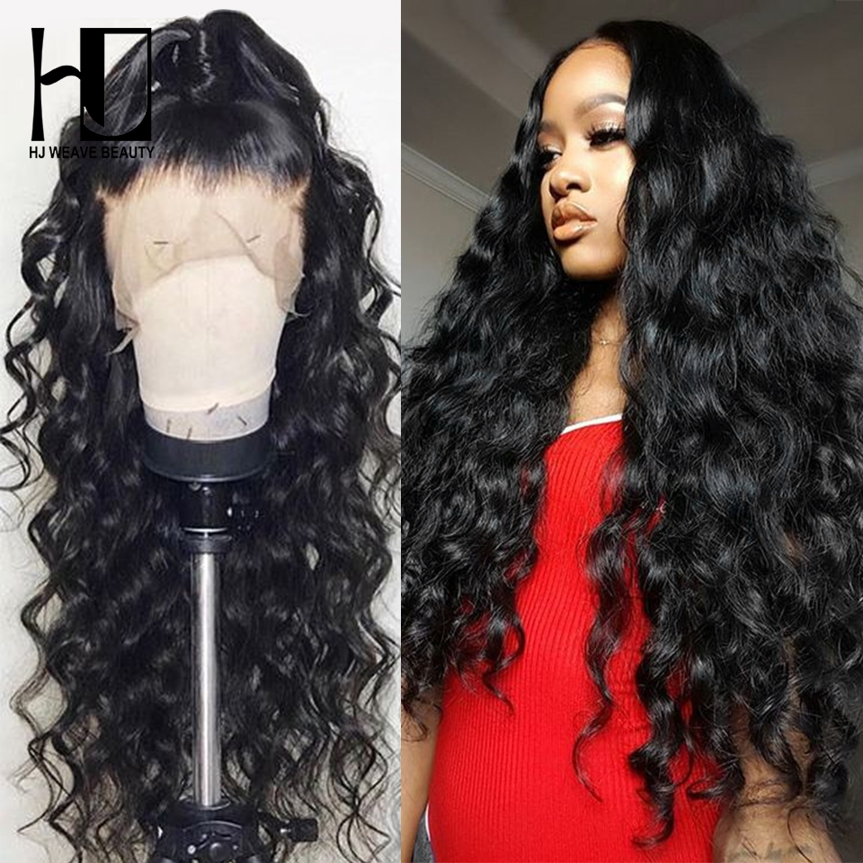 Lace Front Human Hair Wigs Brazilian Natural Wave Remy Hair Pre Plucked Natural Hairline With Baby Hair 13x6 Glueless Lace Wig