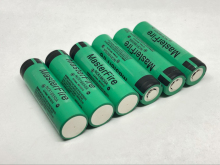 MasterFire 6pcs/lot  New Original 18650 NCR18650A Rechargeable battery 3.6V 3100mAh Batteries For panasonic laptop