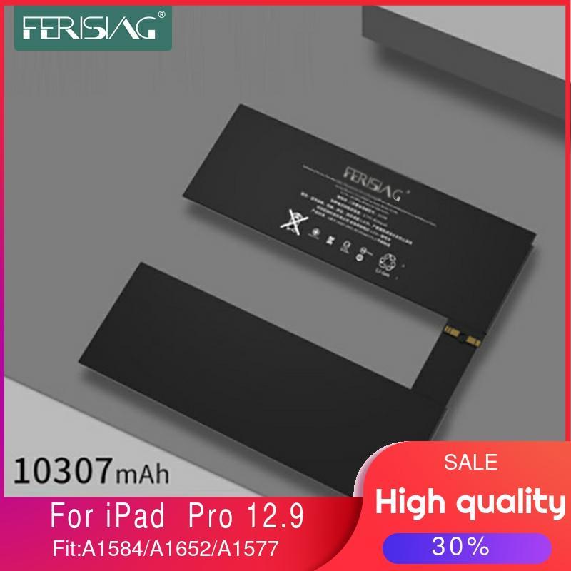Nouvelle batterie dorigine pour tablette ferise 2020 pour Apple iPad Pro 12.9 A1584 A1652 A1577 batterie de remplacement haute capacité + outils