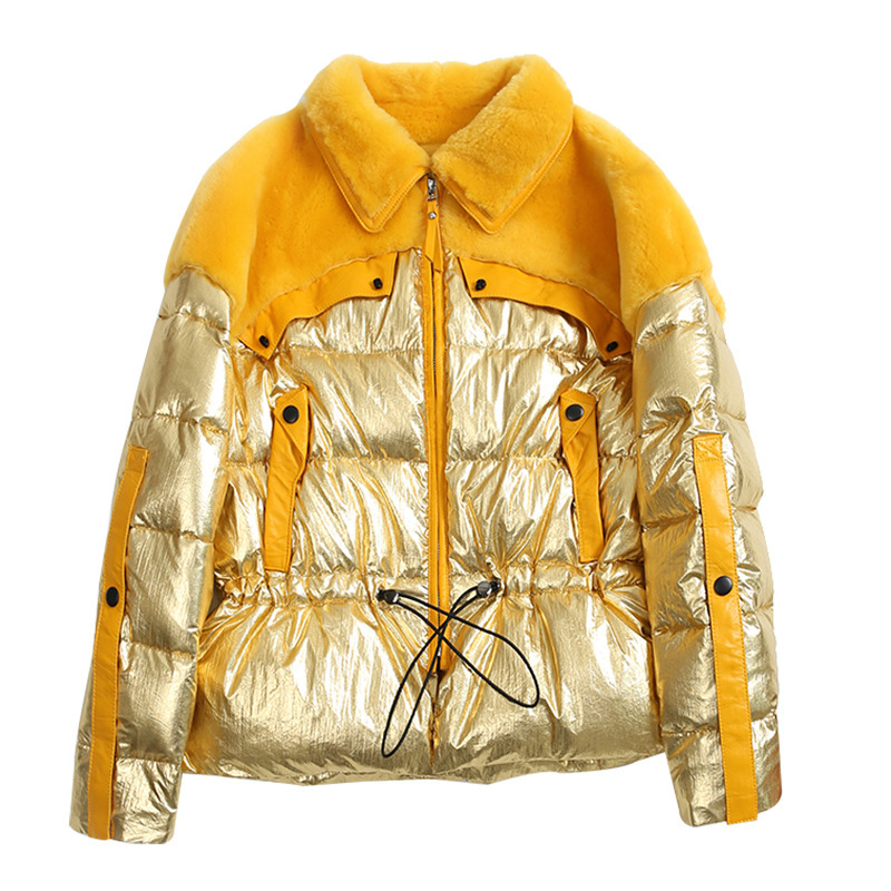 Autumn Winter Coat Women Clothes 2020 Korean 100% Wool Jacket Real Fur Coat Streetwear Vintage Women Tops Sheep Shearling ZT3276