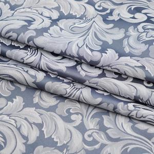 Image 2 - Usexta feira cortina de banho elegante, branco, gaze, poliéster, à prova dágua, grossa, jacquard, cinza, prata