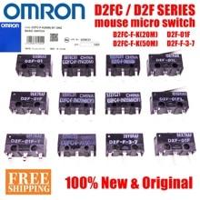 10PCS OMRON maus micro schalter D2FC F 7N 10m 20m VON D2FC F K(50M) d2F D2F F D2F L D2F 01 D2F 01L D2F 01FL D2F 01F T D2F F 3 7
