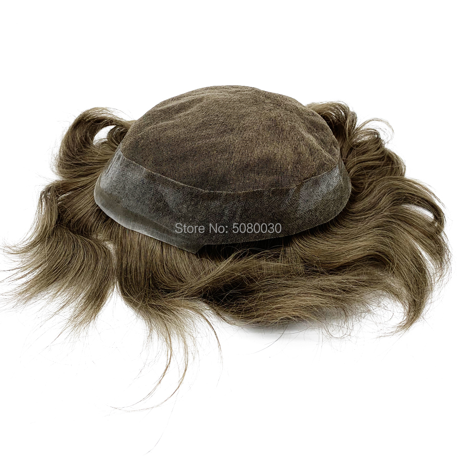 Mens Wig Hair Replacement For Woman Natural Hair Any Coolor Men Toupees Free Shipping FEDEX DHL