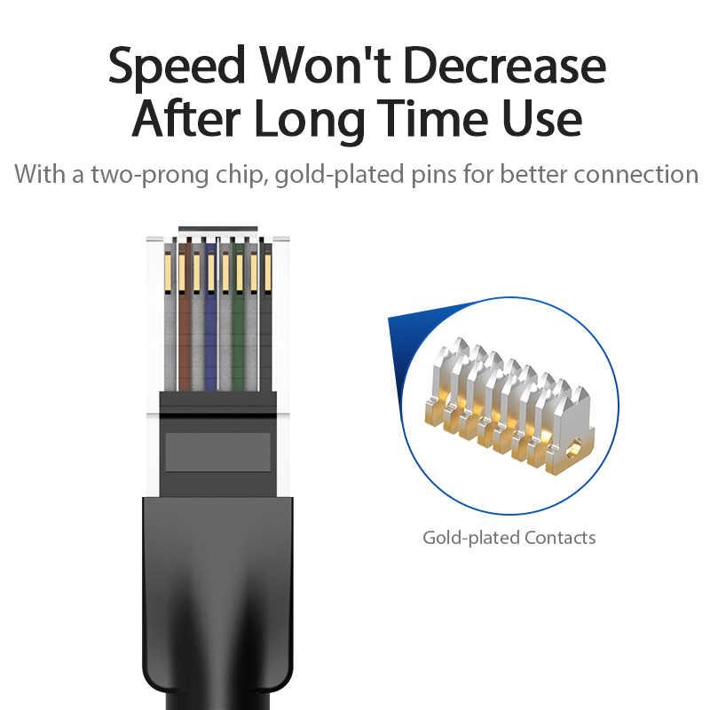 Vention Ethernet כבל Cat6 Lan כבל UTP חתול 6 RJ 45 רשת כבל 1 m/2 m/3 m/5 m תיקון עבור מחשב נייד נתב RJ45 רשת כבל