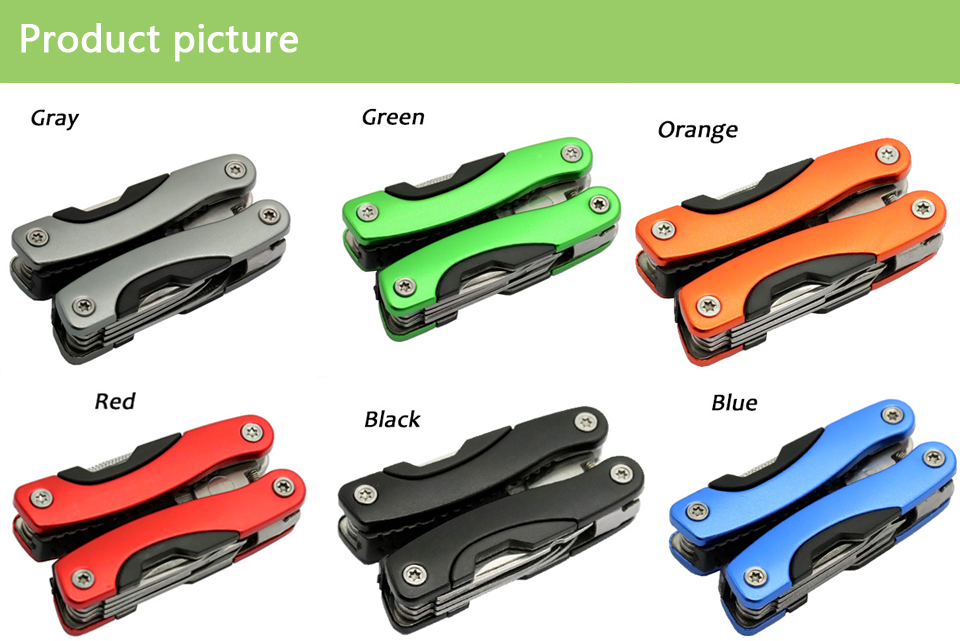 Plier Stainless Steel Multi tool Functional Plier Hand Tools Plier Screwdriver Tool Kit Combination Outdoor Multitool