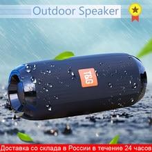 Haut-parleur stéréo Bluetooth portable de, colonne de basses sans fil et étanche pour l'extérieur, avec subwoofer, compatible AUX, TF, USB enceinte bluetooth haut-parleurs haut parleur bluetooth enceinte musique