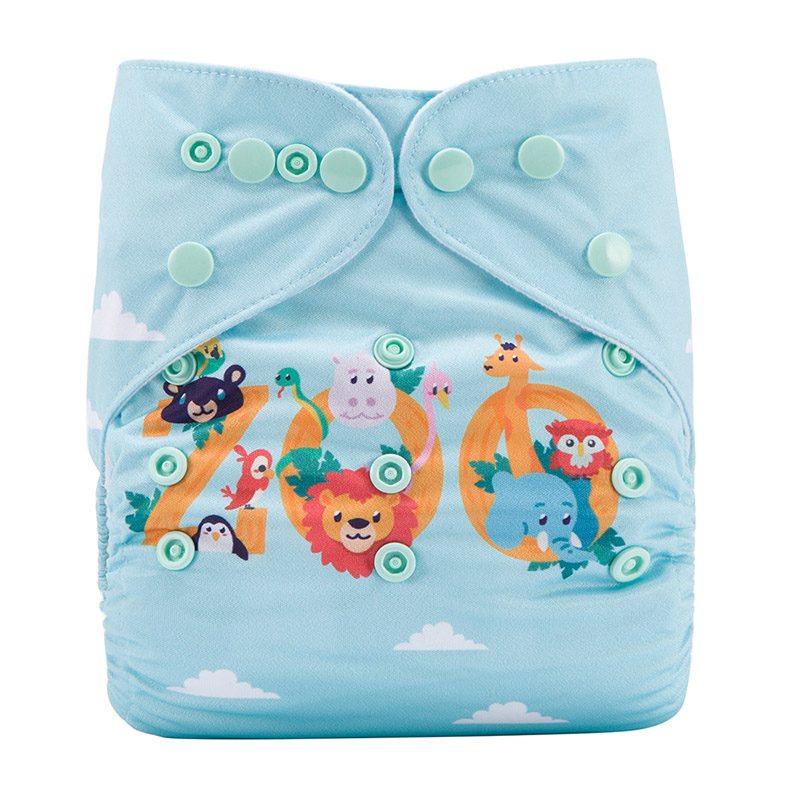Organic Washable Reusable Baby Cloth Diapers Reusable Modern Cloth Nappies For Baby DY46
