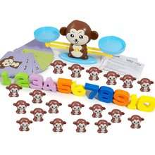 Monkey Digital Balance Scale Toy Early Learning Balance Children Enlig