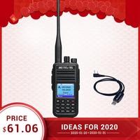RETEVIS RT3S DMR Radio Digital Walkie Talkie GPS DMR Ham Radio Amador 5W VHF UHF Dual Band Encryption Compatible with Mototrbo