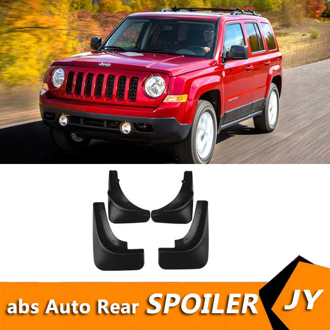 For Jeep Patriot 2011 2015 Mudflaps Splash Guards Front With The Color And Rear Mud Flap Mudguards Fender Modified Special Aliexpress