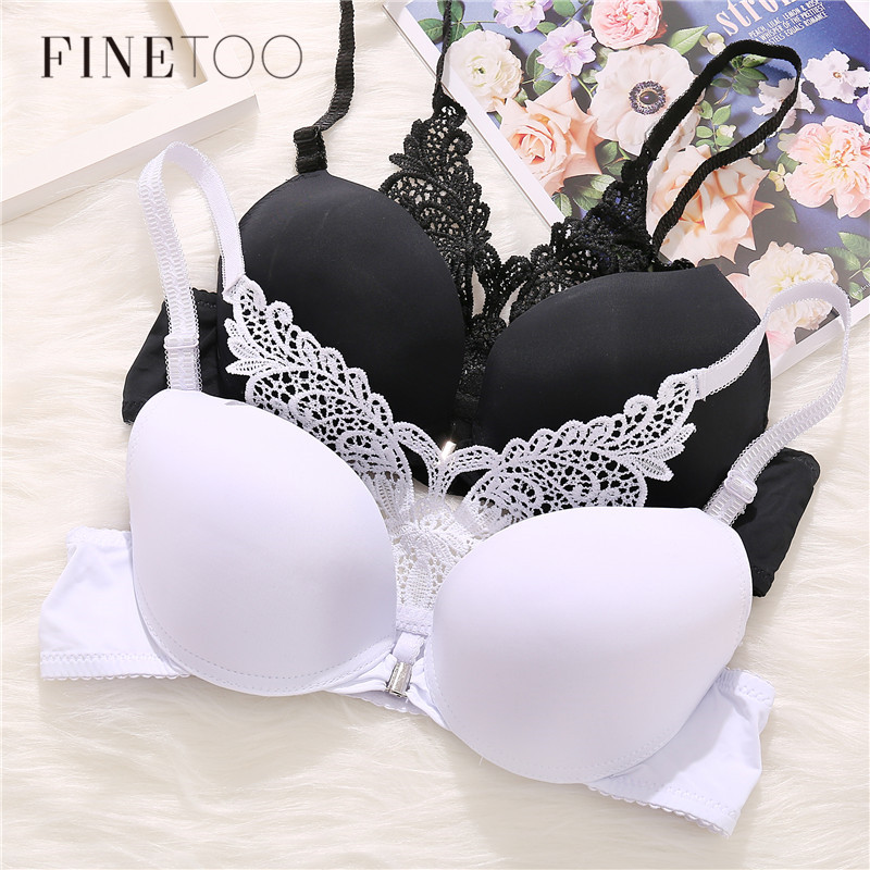 New Arrival Bra Sexy Push Up Bra Front Closure  Bras For Women Butterfly Racerback Brassiere Small Breast Push Up Biustono Hot