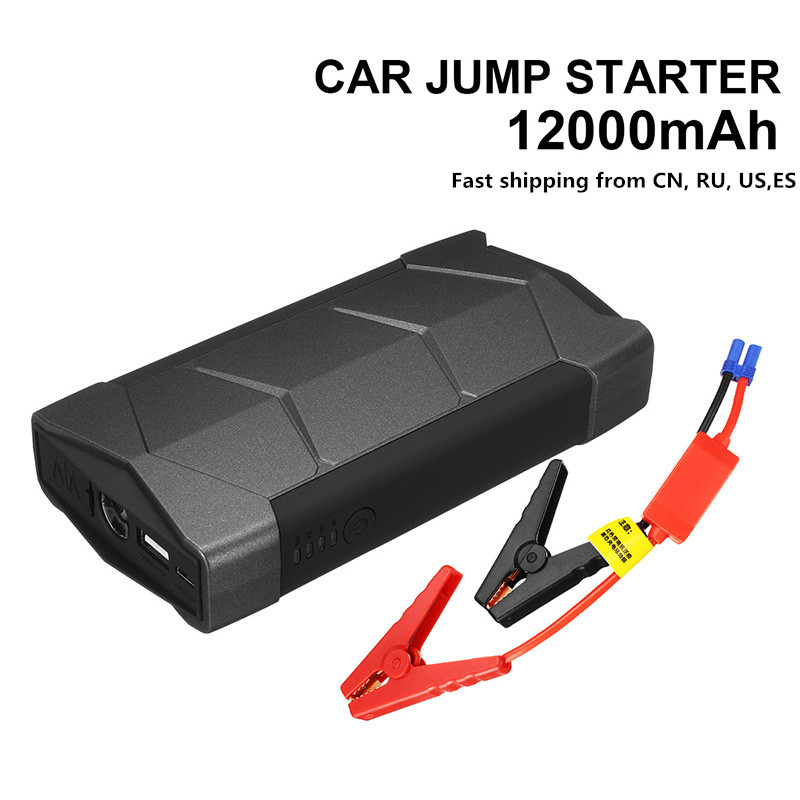 12V Car Jump Starter 400A Portable USB Car Battery Booster Charger Power Bank Auto Multifunction title=
