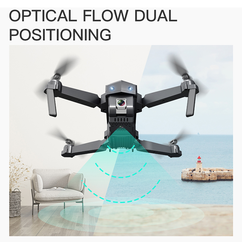 Top SaleSG107 Mini Drone 4K FPV WIFI Single camera drone profissional Dual camera Optical flow Modular battery RC Quadcopter VS E58 dron