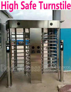 Access-Control Turnstile Gate Door-Kit Safety-Barrier Exit Enter Rotate People Double-Way
