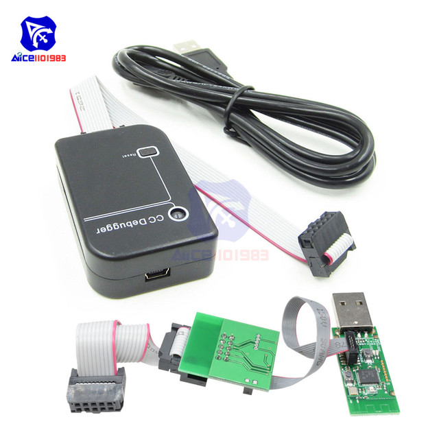 diymore Bluetooth Zigbee Emulator CC Debugger Programmer Protocol Analysis Debugger CC2540 CC2531 Programming Connector Module