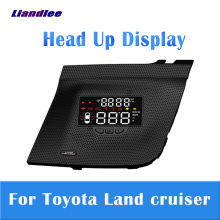 Auto Accessoires Auto Head Up Display Hud Voor Toyota Land Cruiser 2010-2019 2020 Projector Screen Overspeed Alert Alarm detector