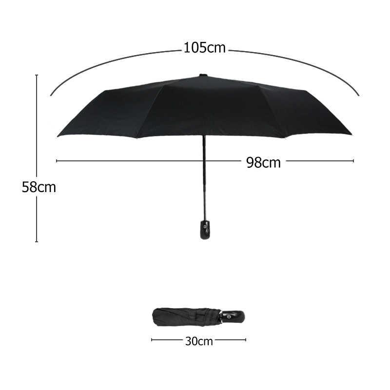 Новый автоматический зонт от дождя для женщин и мужчин 3 складной светильник и прочный сильный красочный Зонты Дети Дождливый Солнечный оптовая цена