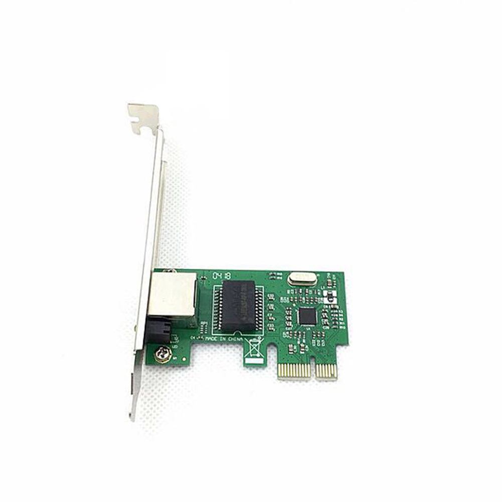 PCI E Exrpess Gigabit Ethernet Adapter Controller Wired High Speed Portable Desktop Network Card Mini LAN Office RTL8111E 1000M