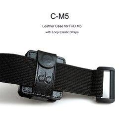 DD C-M5 кожаный чехол для музыкального проигрывателя FiiO M5, с петлей и эластичными ремешками