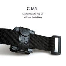 DD C M5 кожаный чехол для музыкального проигрывателя FiiO M5, с петлей и эластичными ремешками