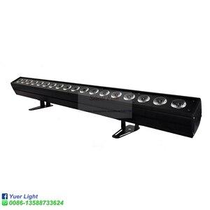Image 3 - 4 adet/grup 18x18W RGBWA UV 6IN1 LED duvar yıkayıcı ışık DMX512 ses disko DJ parti Bar düğün duvar yıkama sahne etkisi aydınlatma